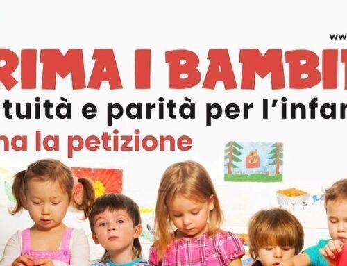 PRIMA I BAMBINI gratuità e parità per l'infanzia – Firma la petizione!